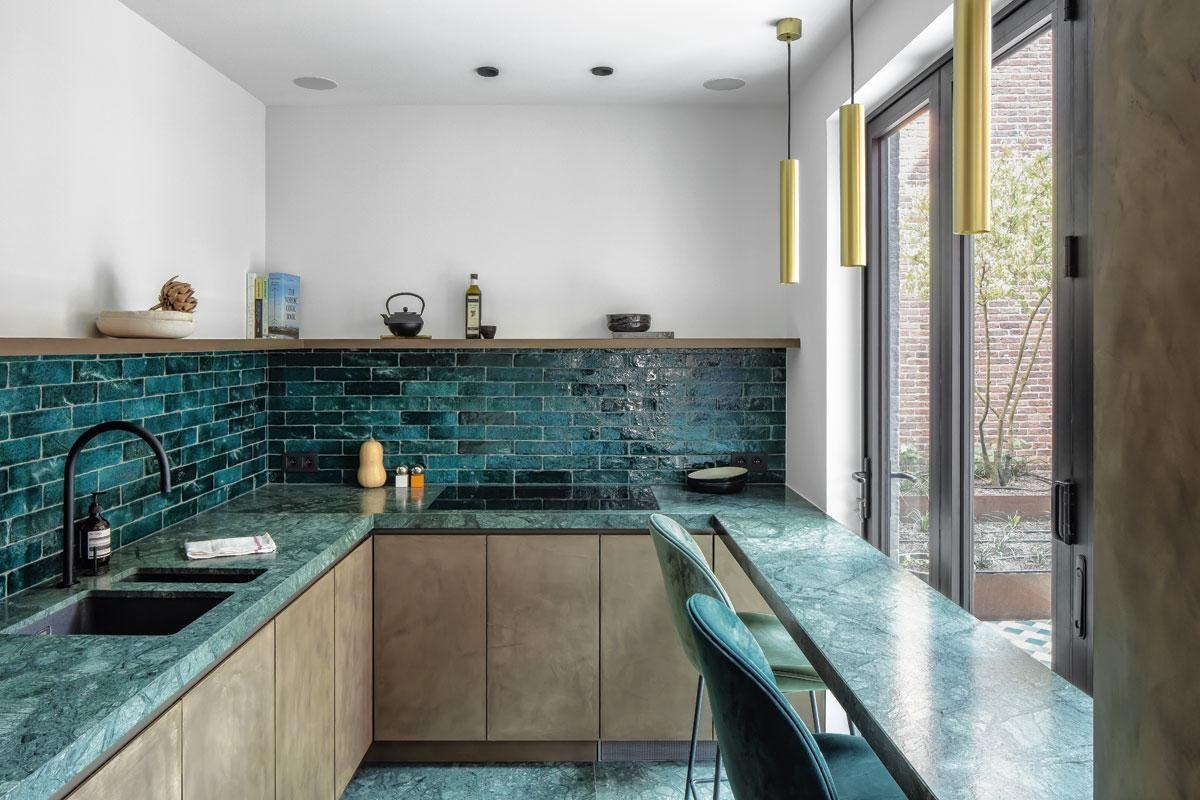 Interbellumhuis Met Geschiedenis Een Historisch Geraamte Met Hedendaags Karakter Keuken Ontwerp Keuken Inspiratie Houten Keuken