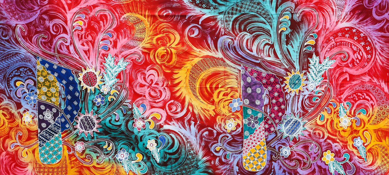 Image Result For Modern Batik Khatulistiwa Tapestry