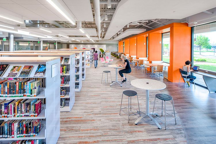 2017 Library Design Showcase With Images Library Design