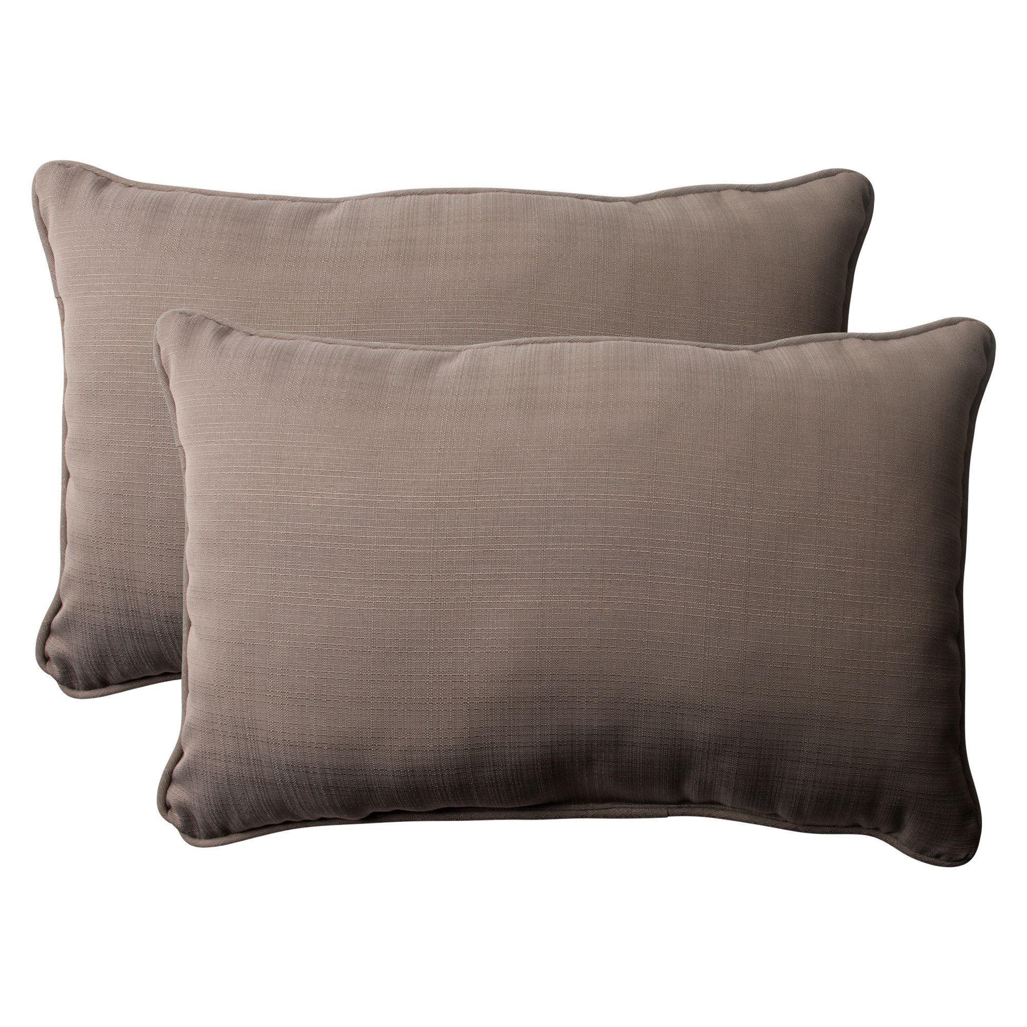 Corded Indoor/Outdoor Throw Pillow
