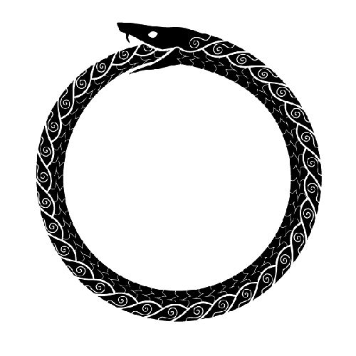 Ouroboros gaelic ouroboros dragon lizard stuff i like for Snake eating itself tattoo