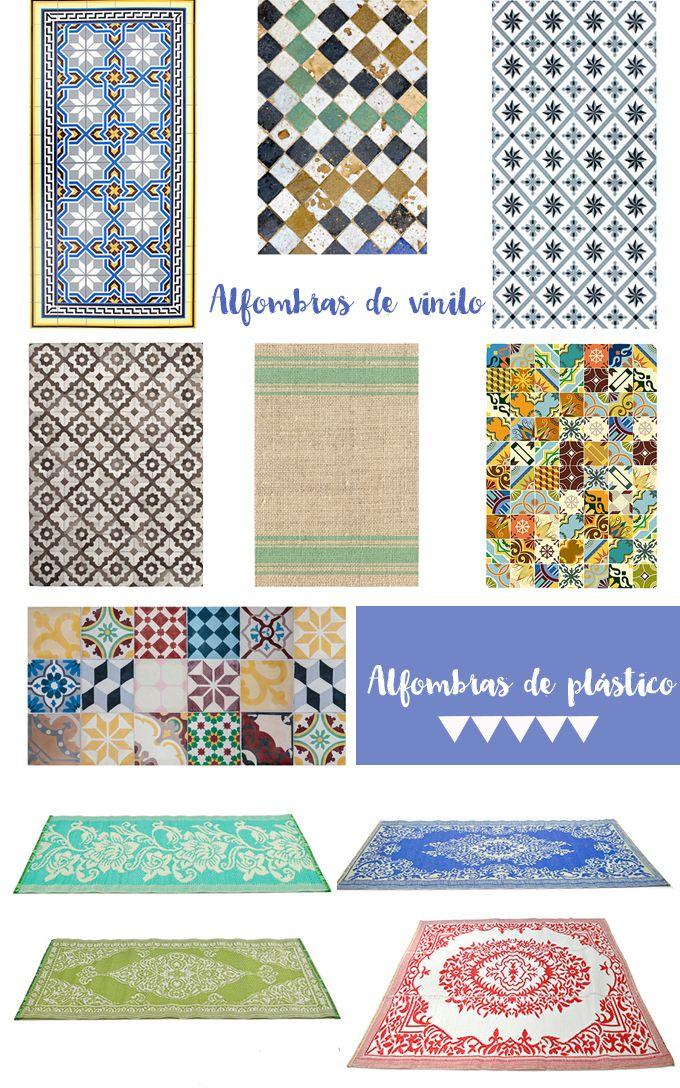 Alfombras vinilicas home textiles pinterest las - Alfombra vinilo cocina ...