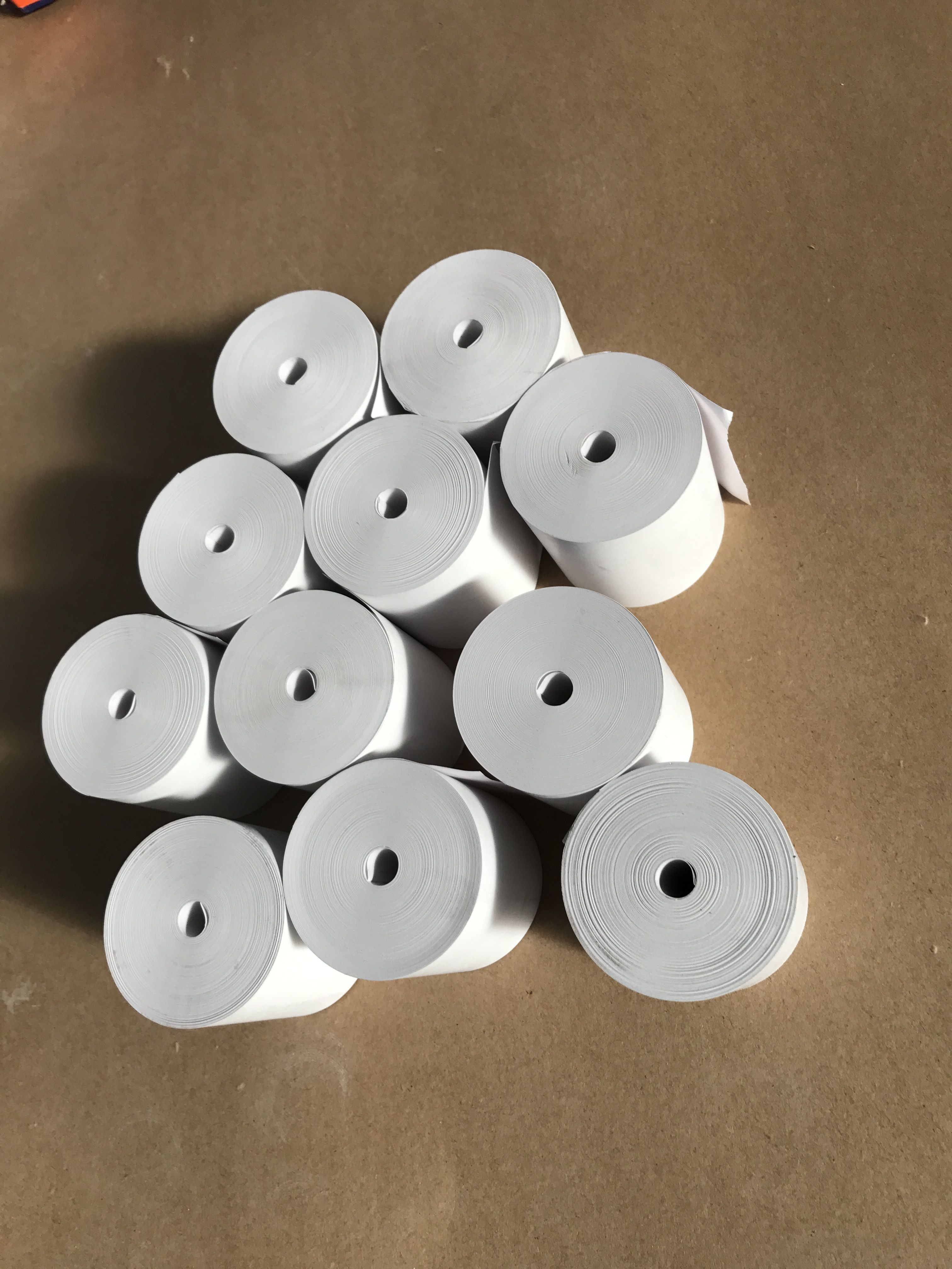 Coreless thermal paper rolls from Greatshine Paper | Coreless