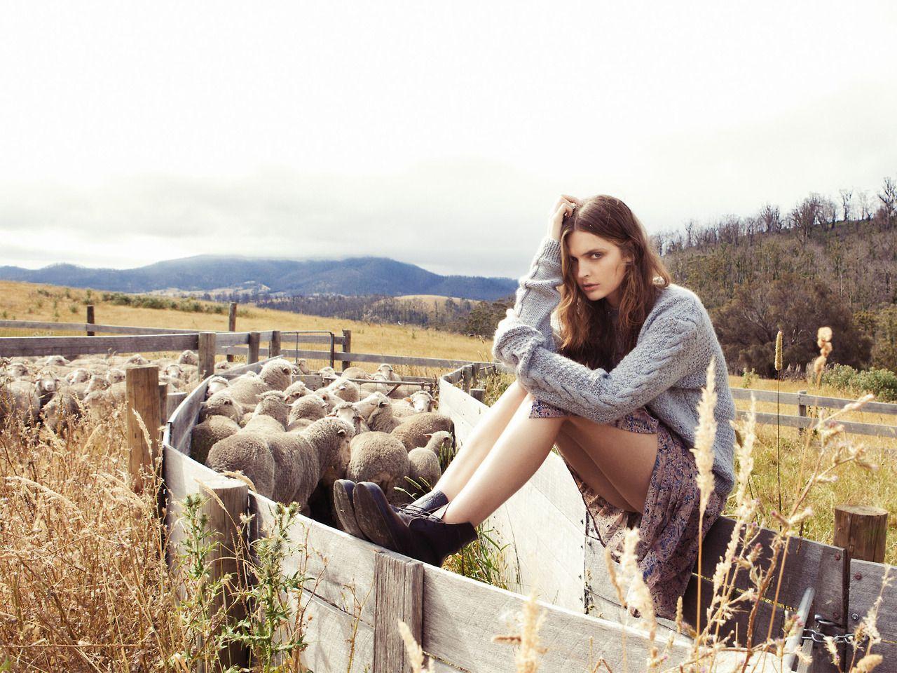 Gertrud Hegelund Hansen by Stefania Paparelli for Elle Australia April 2014