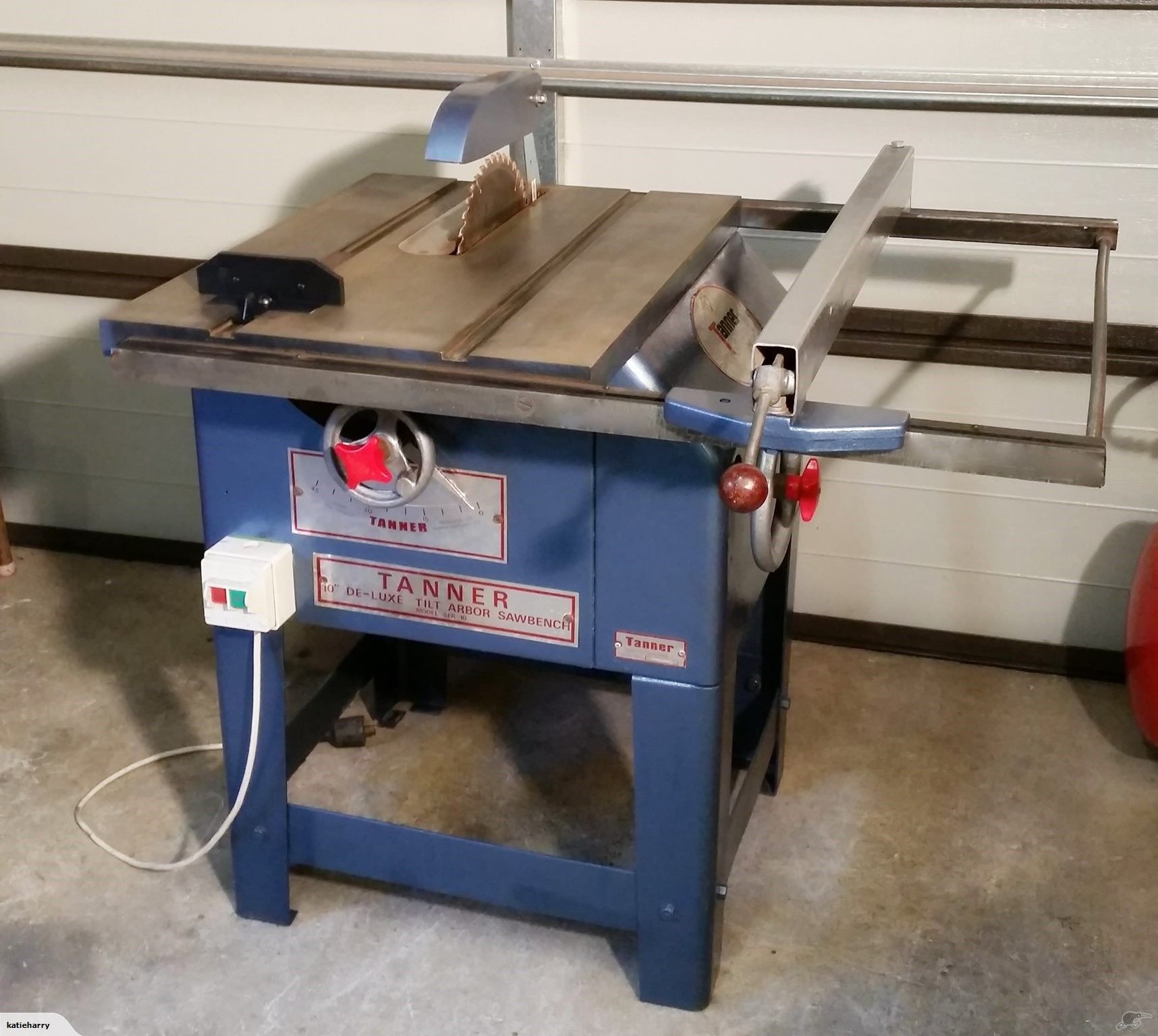 Tanner 10 Deluxe Tilt Arbor Table Saw Table Saws For Sale Table Saw 10 Things