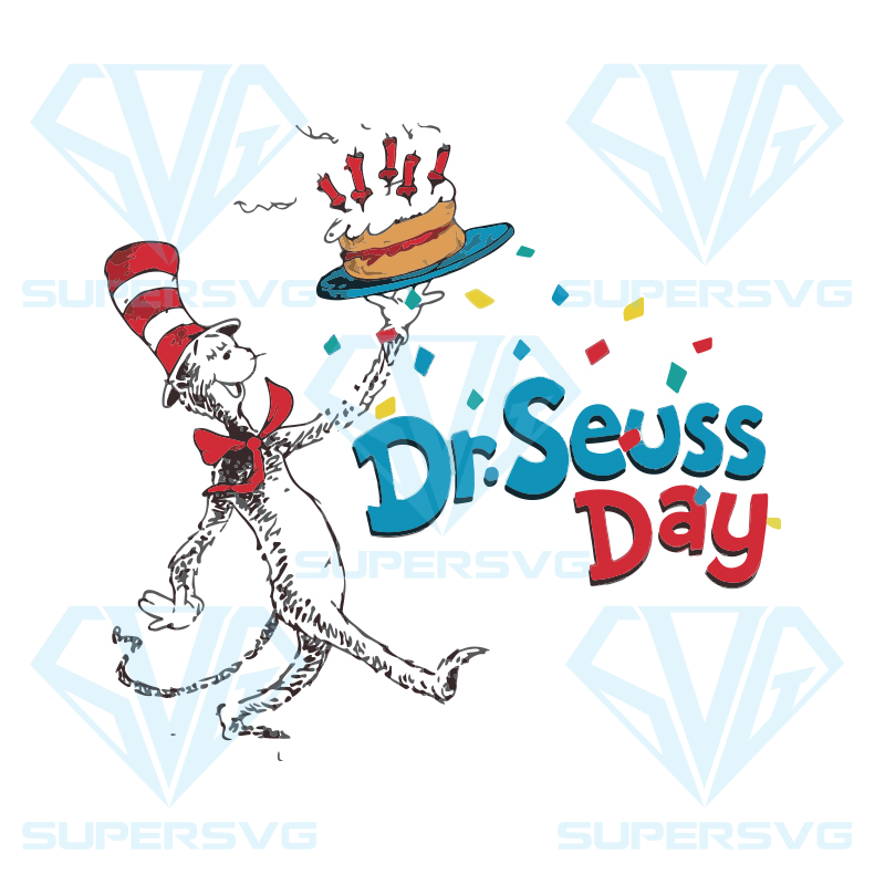 Dr Seuss Day Svg The Cat In The Hat Svg Dr Seuss Svg Dr Seuss Svg Thing One Svg Thing Two Svg Fish One Svg Fish Two Svg The Rolax Svg Png Eps