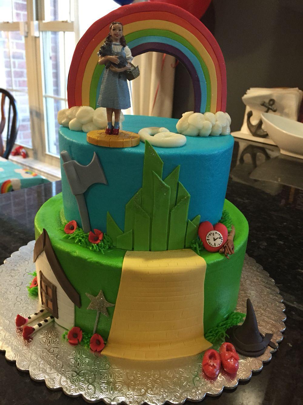 Wizard Of Oz Cake Wizard Of Oz Party Ideas Pinterest Dr Oz