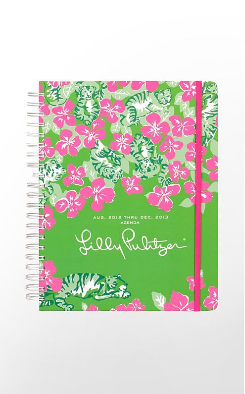 2013 Jumbo Agenda...great for staying organized at school! LOVE!