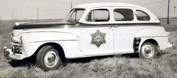 1930 S Ford Tudor Police Car Dallas Texas Dallas Texas