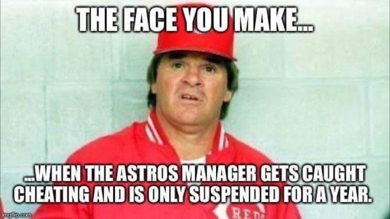 Best Astros Cheating Memes
