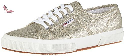 Superga 2750 MACRAMEW, Sneakers Basses Femme 42,5 EU