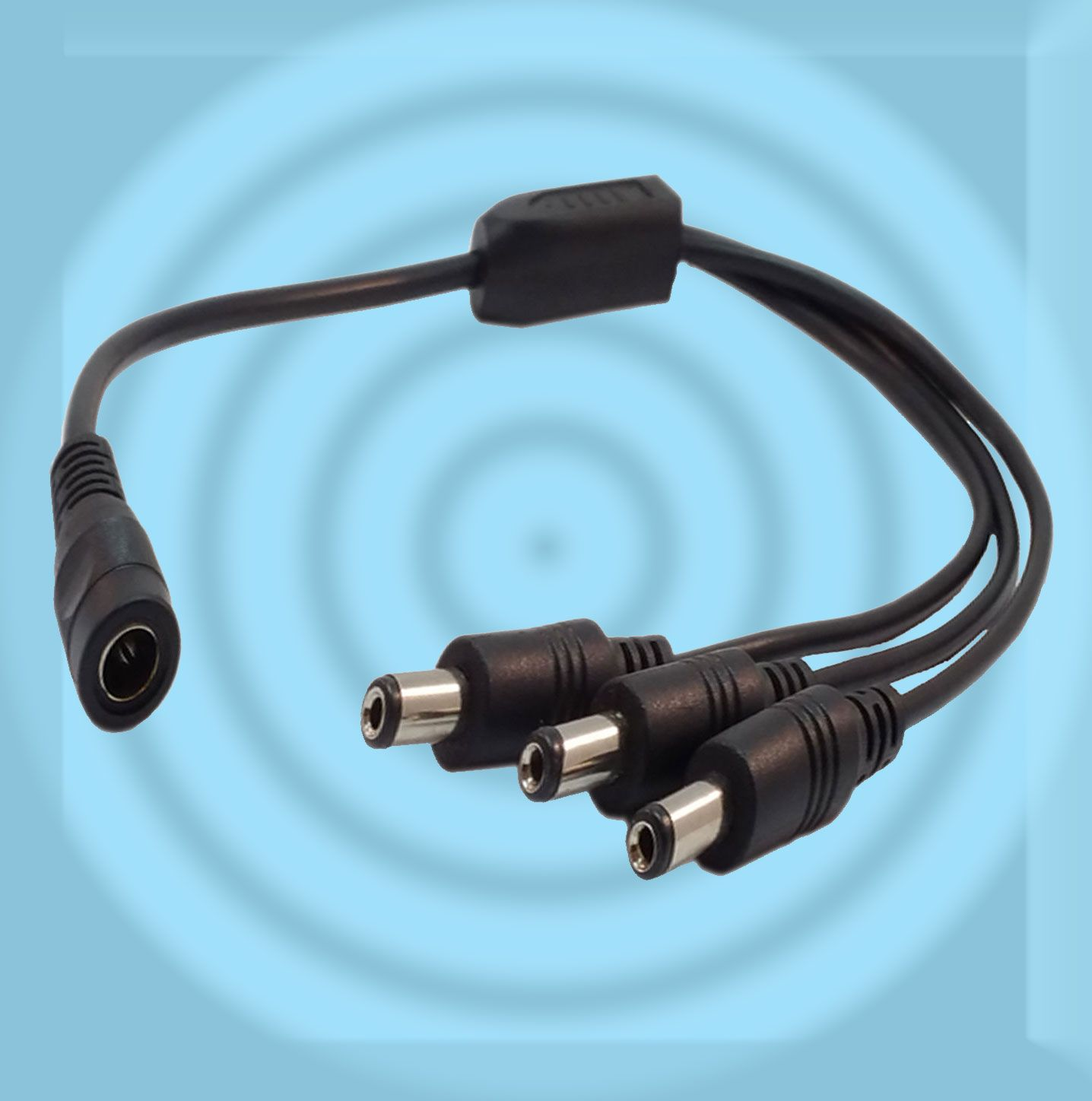 2/3/4/5/8 Way DC Power Supply Splitter Adapter Cord For CCTV ...