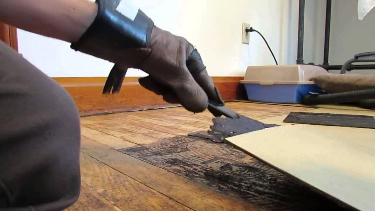 How to Remove Old Linoleum Tile Linoleum, Tiles
