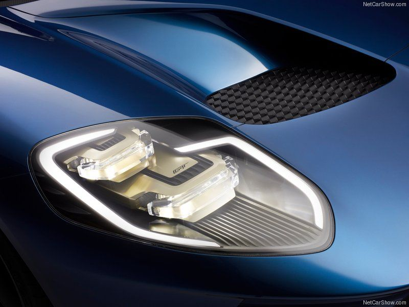 Ford Gt  Headlights