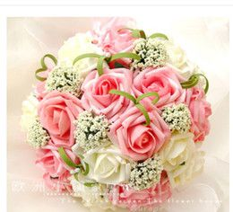 Hand Bouquet Wedding Pink Roses Online Hand Bouquet Wedding Pink Wholesale Flowers Wedding Wedding Bouquets Pink Hand Bouquet Wedding