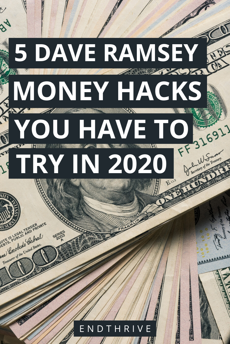 5 Dave Ramsey Money Hacks, die Sie im Jahr 2020 ausprobieren müssen   – Best Money & Personal Finance Tips