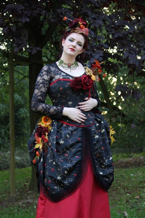 Autumn tornure - CLOTHING  - Craftster.org Best of 2013 Winner