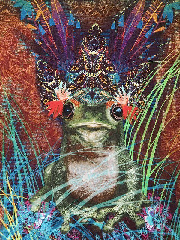 Mens Silk Pocket Square - Drip Paint Cat. Carré Des Hommes De Poche De Soie - Chat De Peinture Au Goutte À Goutte. By Vida Vida Par Vida Vida jzllDtP