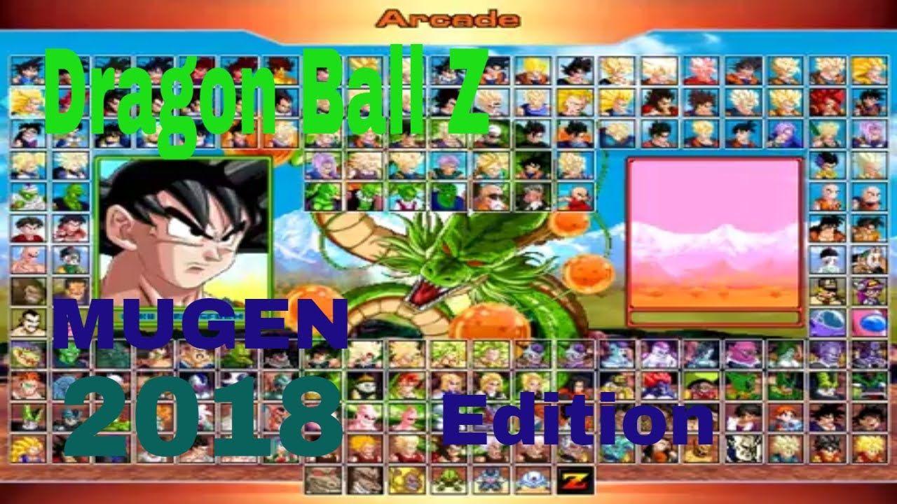 Dragon Ball Z Edition Mugen 2018 DOWNLOAD (GOKU VS SAIBAMAN