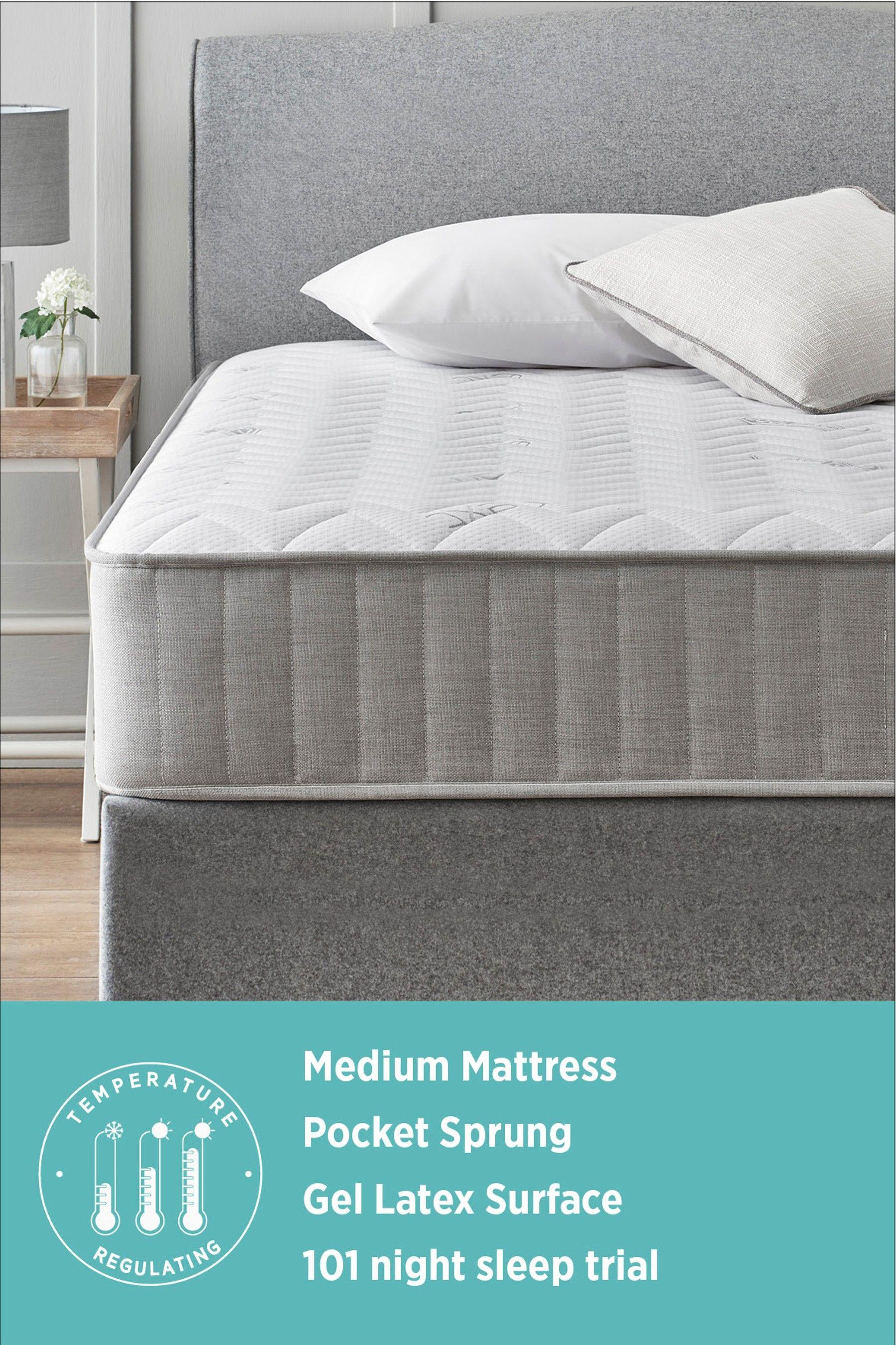 Next 1900 Temperature Regulating Pocket Sprung Mattress Comfort Mattress Mattress Types Of Beds