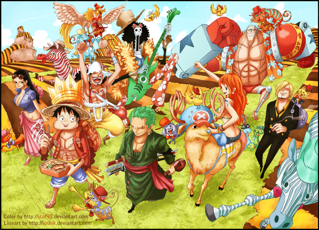 Mugiwara Crew + 2 years by staf93 on DeviantArt  d094d2ec0ba