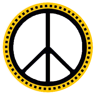 Peace sign Illustration on FREE clipart site. Art is original ...