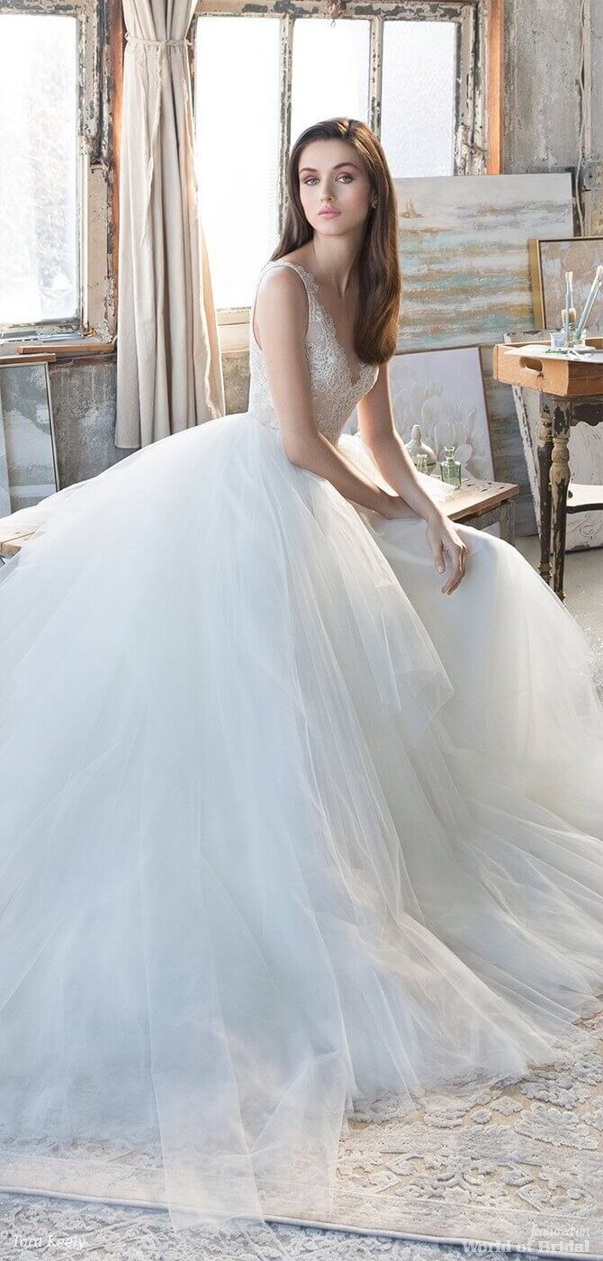 Tara Keely Spring 2018 Wedding Dresses JLM Couture   Lace bodice ...