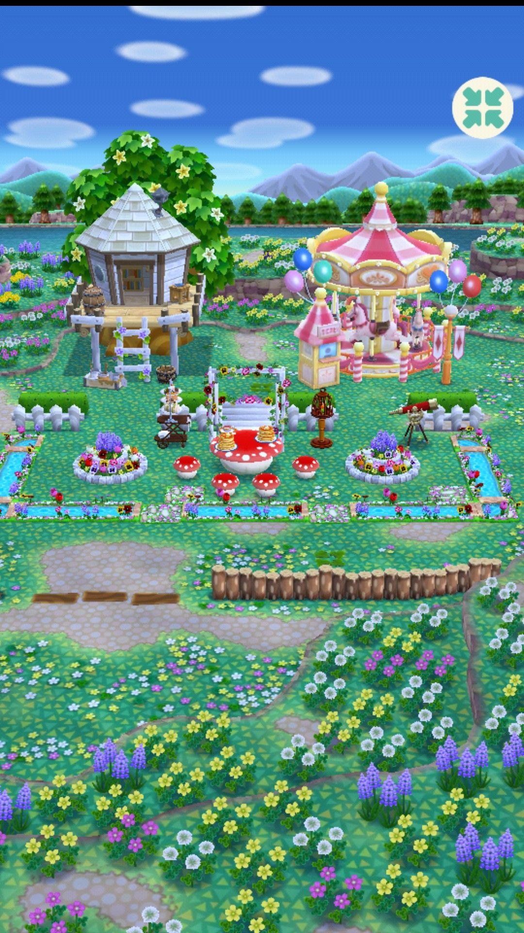 Animal Crossing Pocket CampThis isn't my camp, but I've