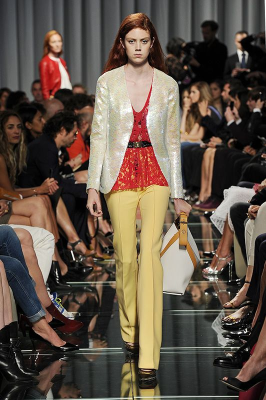 Look from the first Louis Vuitton Cruise Show.