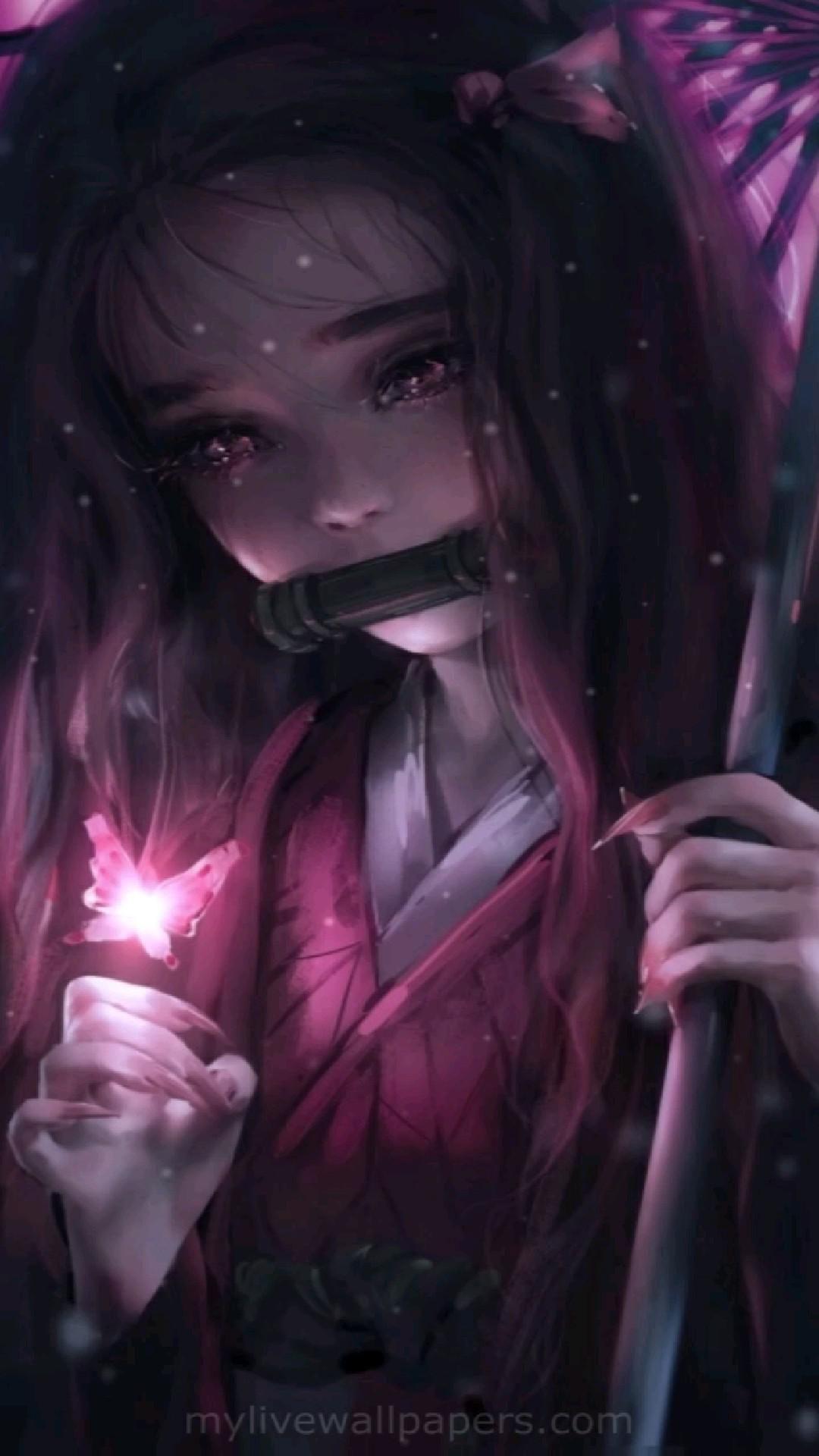 Anime girl Love