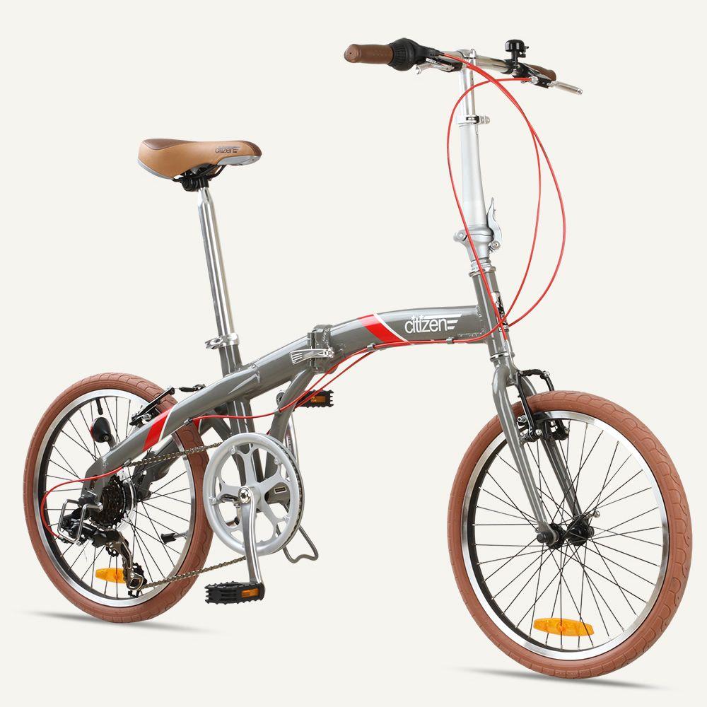 Seoul Citizen Bike 20 7 Speed Folding Bike With Alloy Frame