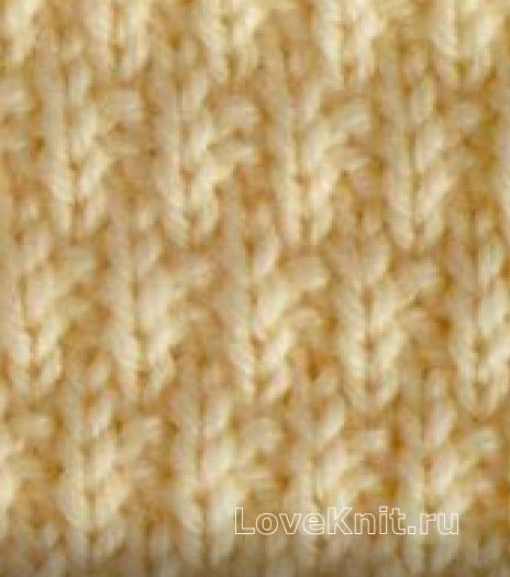 Вязание спицами узор спицами №3996 схема