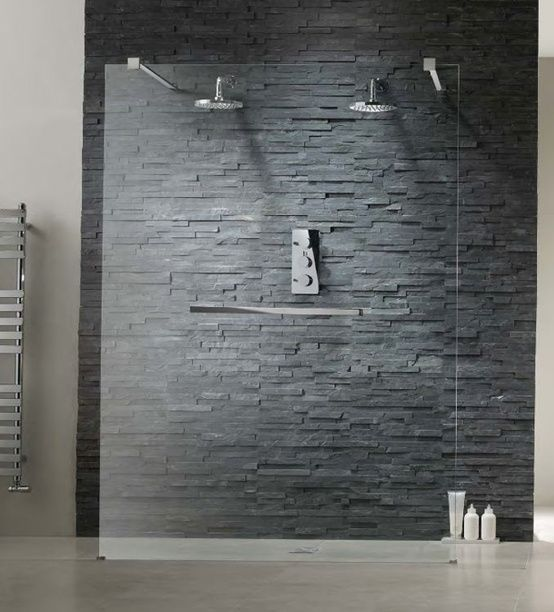 Small Bathroom Designs Grey shower tile ideas for a lovely bathroom | tile ideas, faux stone