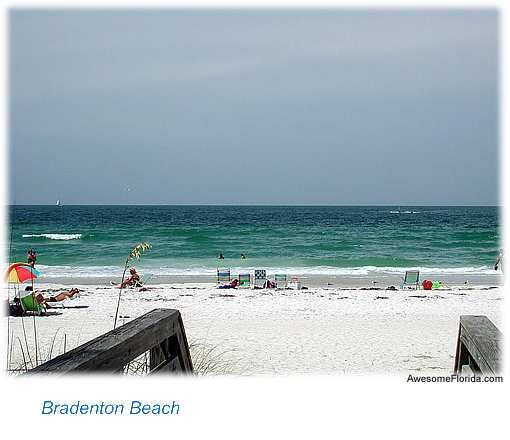 Bradenton Beach Is Beautiful 4 Mile Stretch Of White Sand Nestled Among Several Communities Along The West Coast Florida