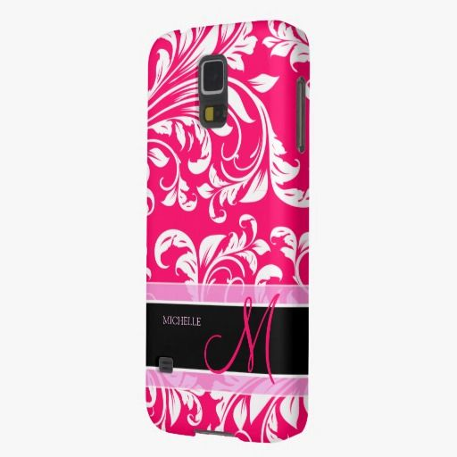 It's cute! This Broadway Pink and white floral damask w/ monogram Galaxy Nexus Case is completely customizable and ready to be personalized or purchased as is. Click and check it out!