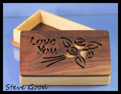 Scrollsaw Workshop: Love You Scroll Saw Box