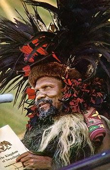 In 1973, King Sobhuza II declares Swaziland an absolute monarchy and bans all political parties and repeals the constitution.  He appoints members of the royal family to his council and they get to appoint officials to a House of Assembly.  And basically after that, anyone who disagrees with him, he declares them a political party and bans them, for example the National Teachers Organization.