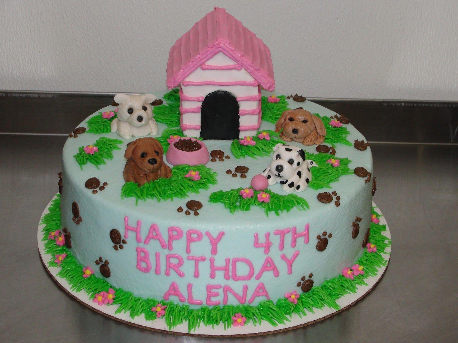 mn girls puppy birthday cakes photo little girl puppy