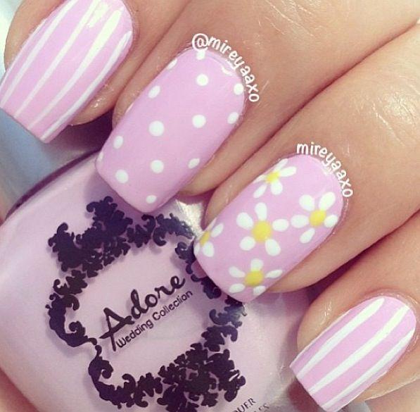 17 Gorgeous Spring Nail Designs Con Immagini Unghie Unghie