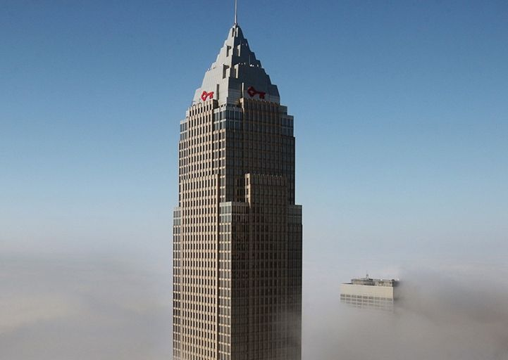 57th Floor Key Tower Sublease Office Building 127 Public Square Cleveland Oh Public Square Office Building Building