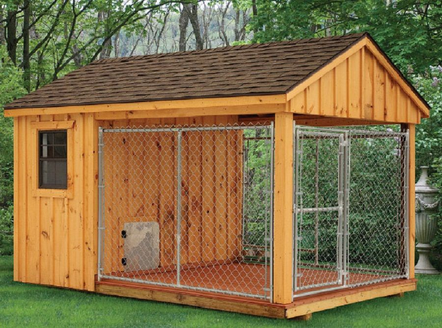 Dog House With Porch And A Door For Humans Minus The Patio