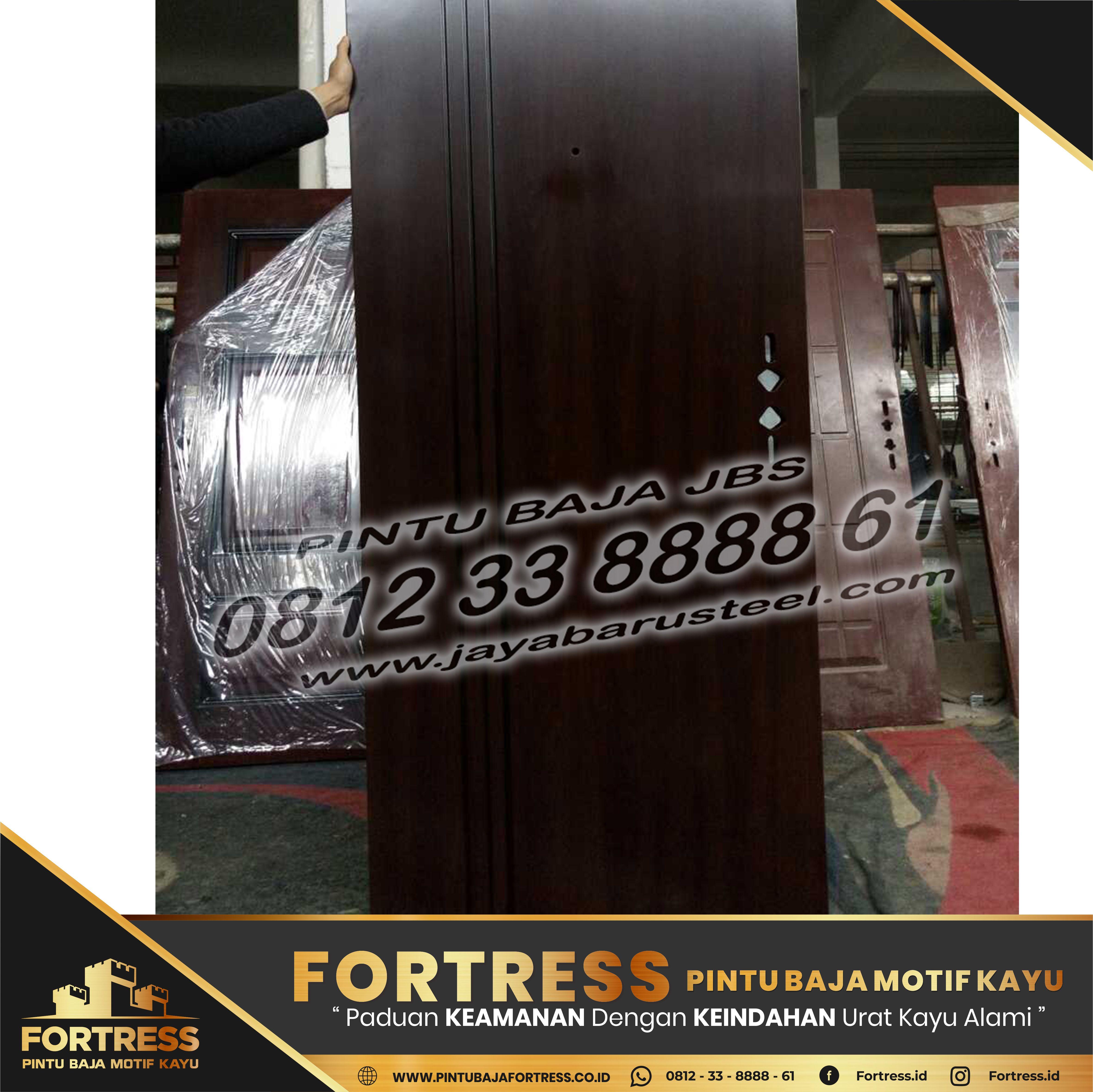 0812-91-6261-07 (FORTRESS) Pontianak Steel Plate Door Model, …