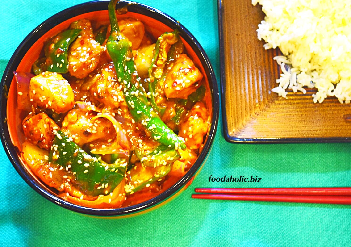 Chilli Chicken Dry Recipe | Stuffed peppers, Food recipes ...