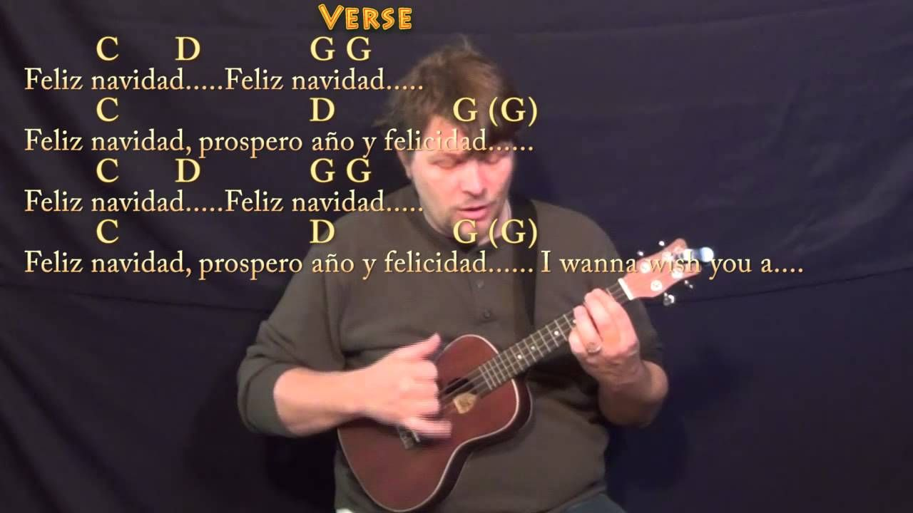 Feliz navidad ukulele cover lesson in g with chordslyrics feliz navidad ukulele cover lesson in g with chordslyrics g c d em hexwebz Images