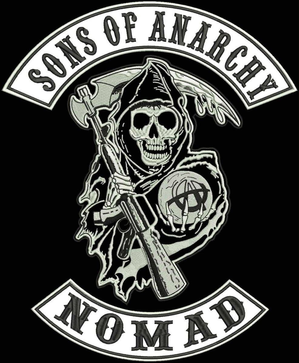 sons of anarchy vest cut patches | Nomad patch - Sons of Anarchy ...