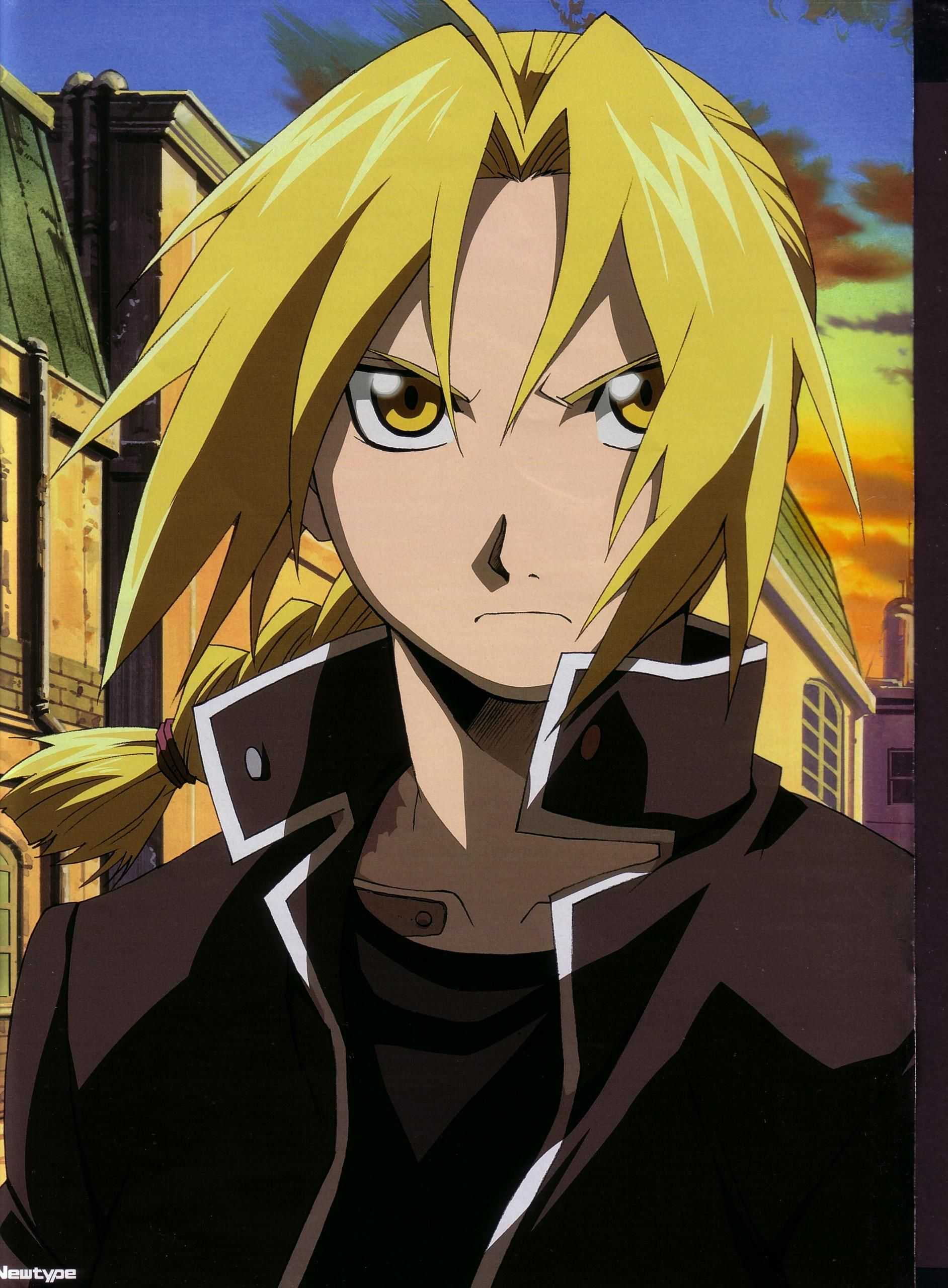 Edward Elric the Fullmetal Alchemist Anime Pinterest