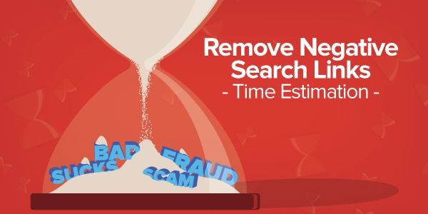 How Much Time it Takes to Remove Negative Links from Top Search Pages?