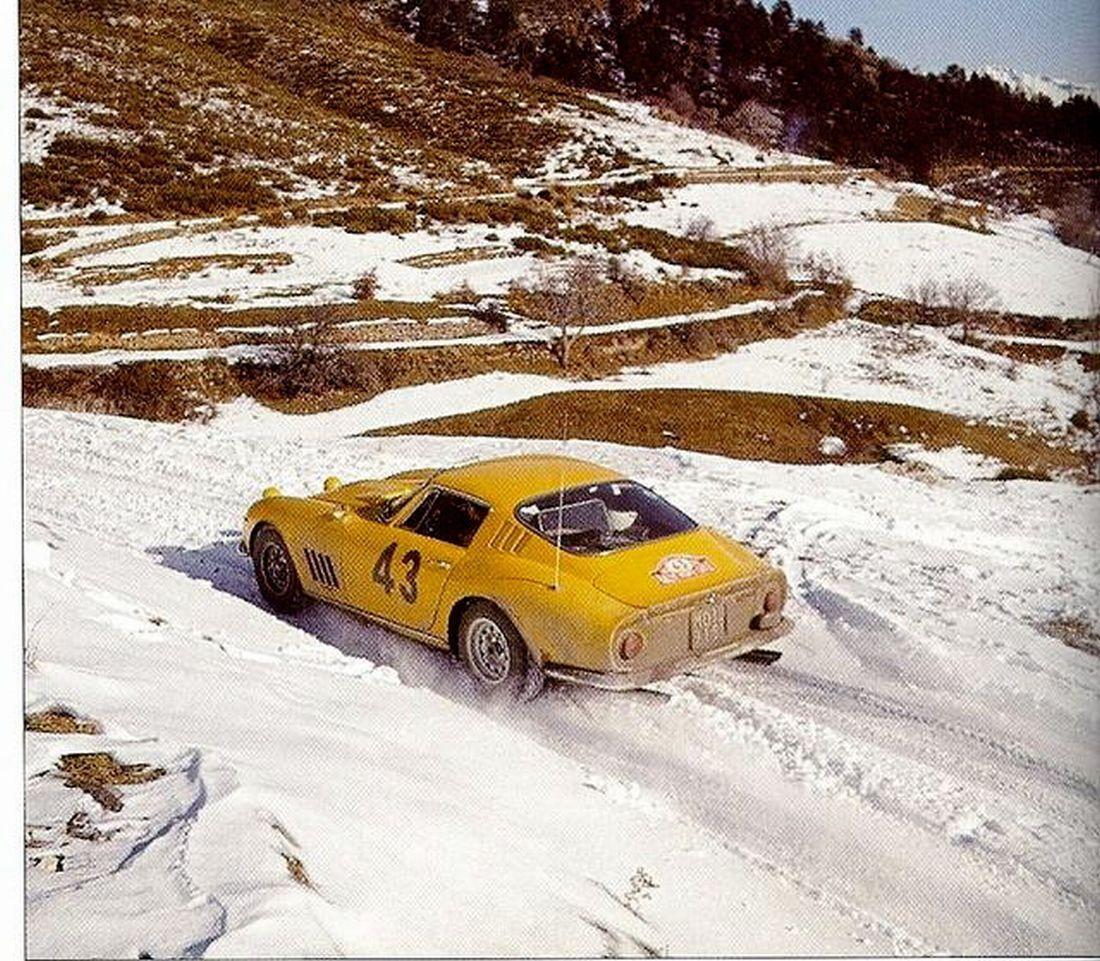 Monte Carlo 1966 - Pianta Giorgio - Lippi Roberto icon Ferrari 275 GTB