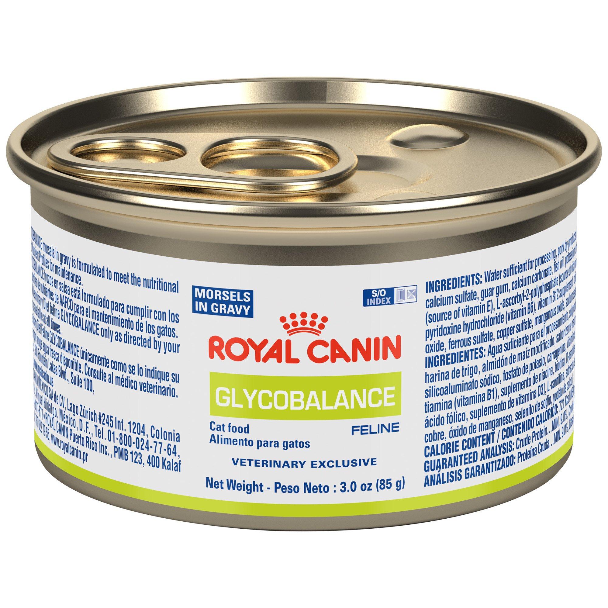 Royal Canin Glycobalance Wet Cat Food 3 Oz Case Of 24 Petco Canned Cat Food Wet Cat Food Best Cat Food