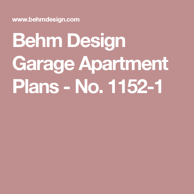 Garage Apartment Plans 24 X 30: 1152-1 24' (+4') X 24' 2 Car Two Story